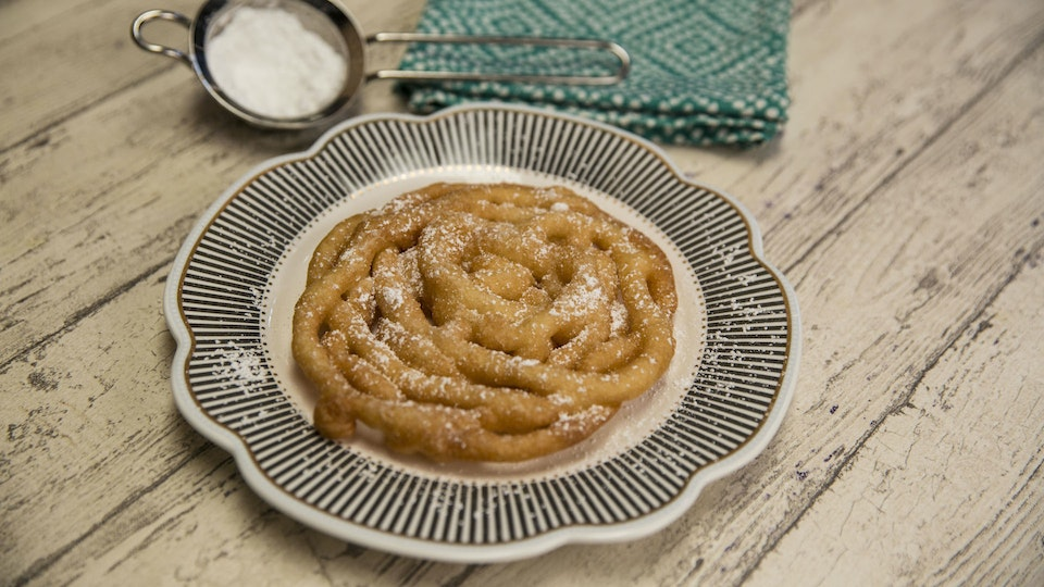 Funnel Cake Out Of Pancake Mix