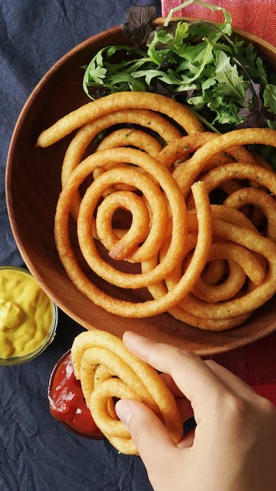 Potato Spirals