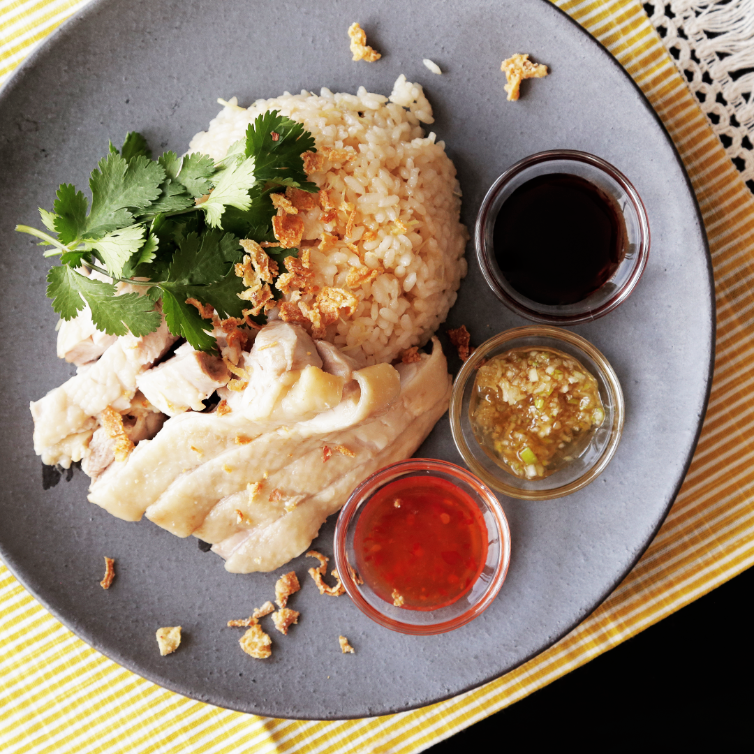 Hainanese chicken rice recipe tastemade forumfinder Choice Image