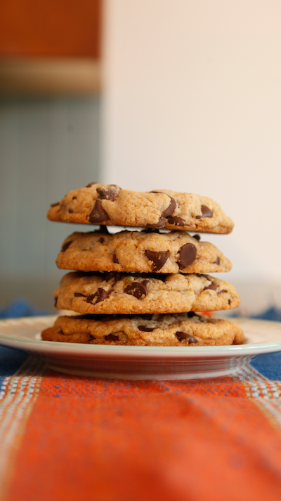 Cornmeal Chocolate Chip Cookies With Fennel Seeds