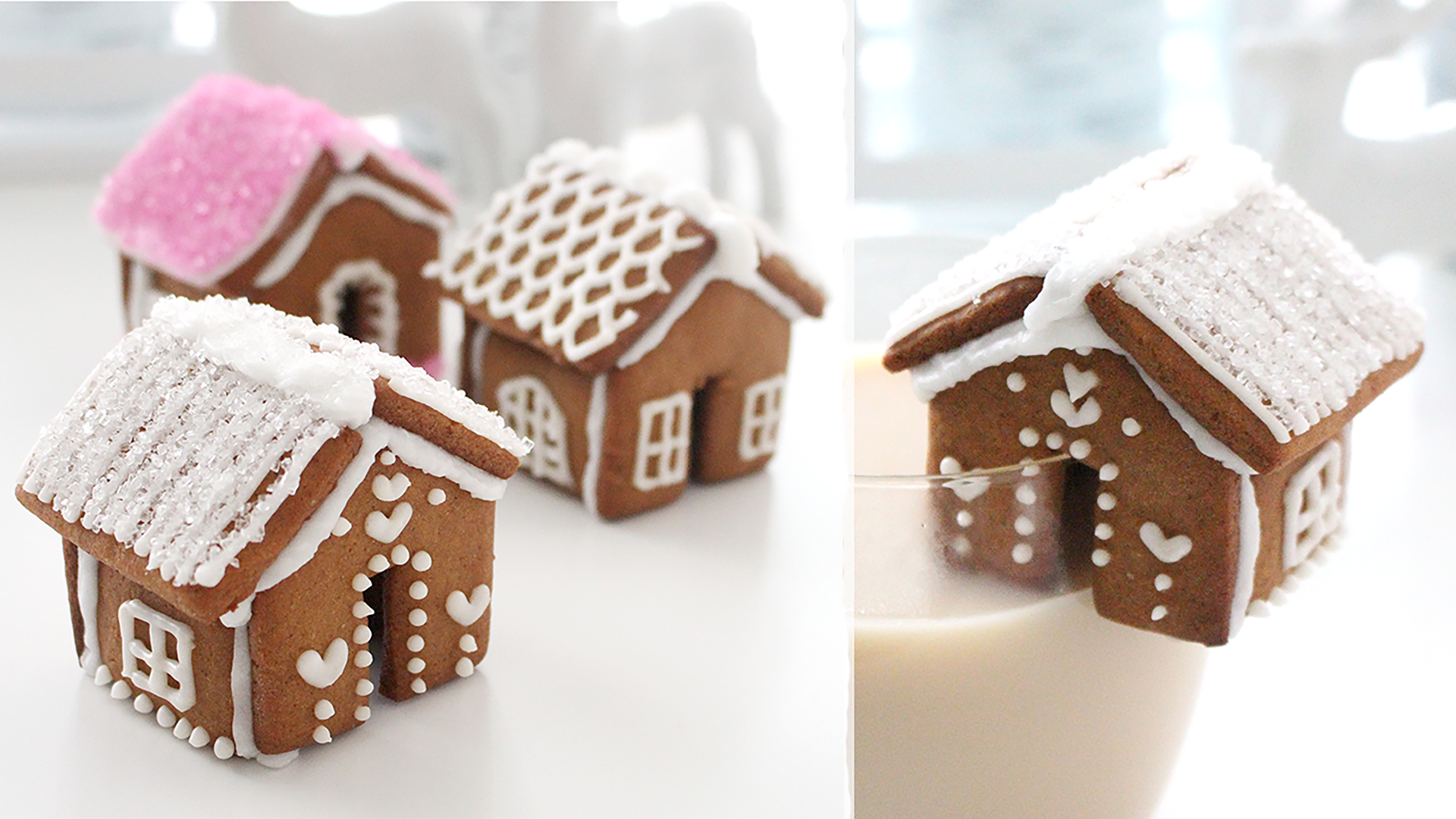 Gingerbread House Mug Toppers Recipe Tastemade