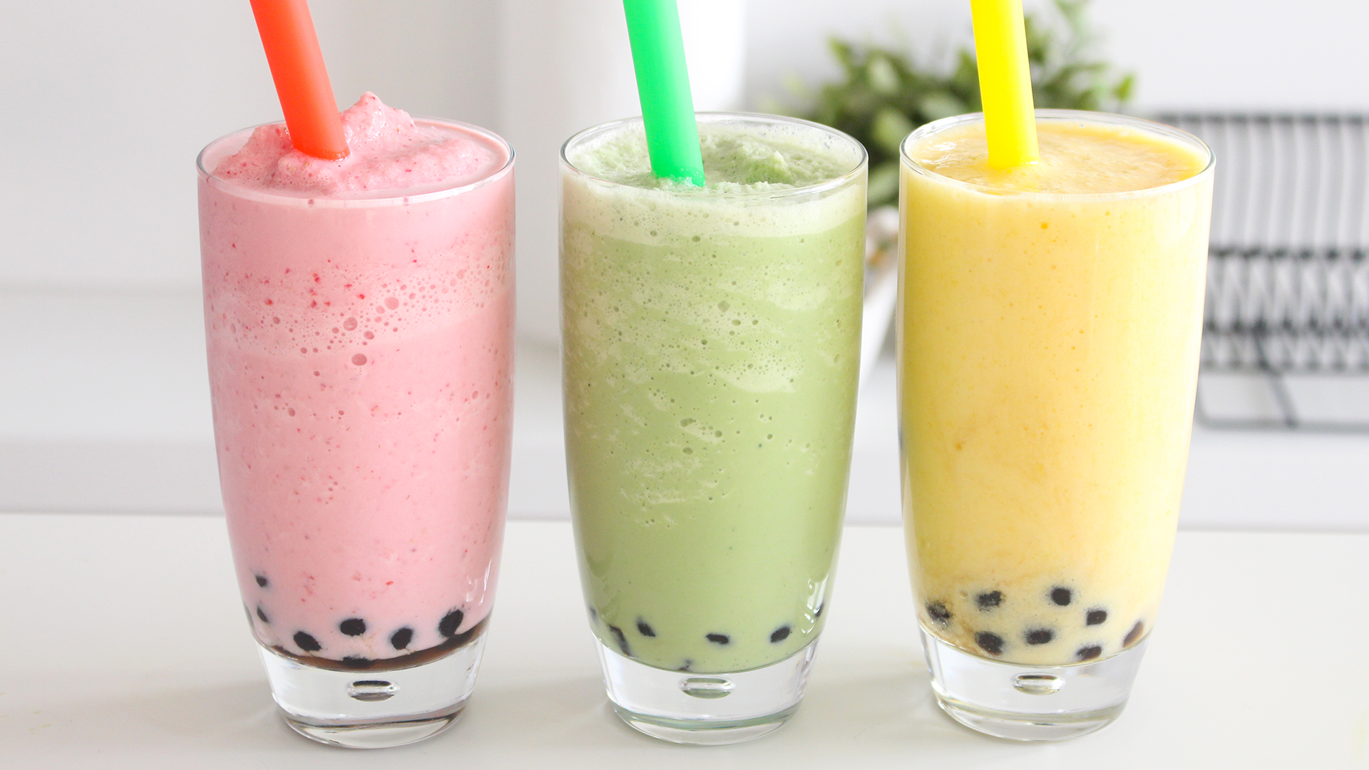 Healthy Bubble Tea