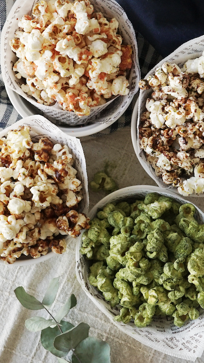Four Flavors of Popcorn