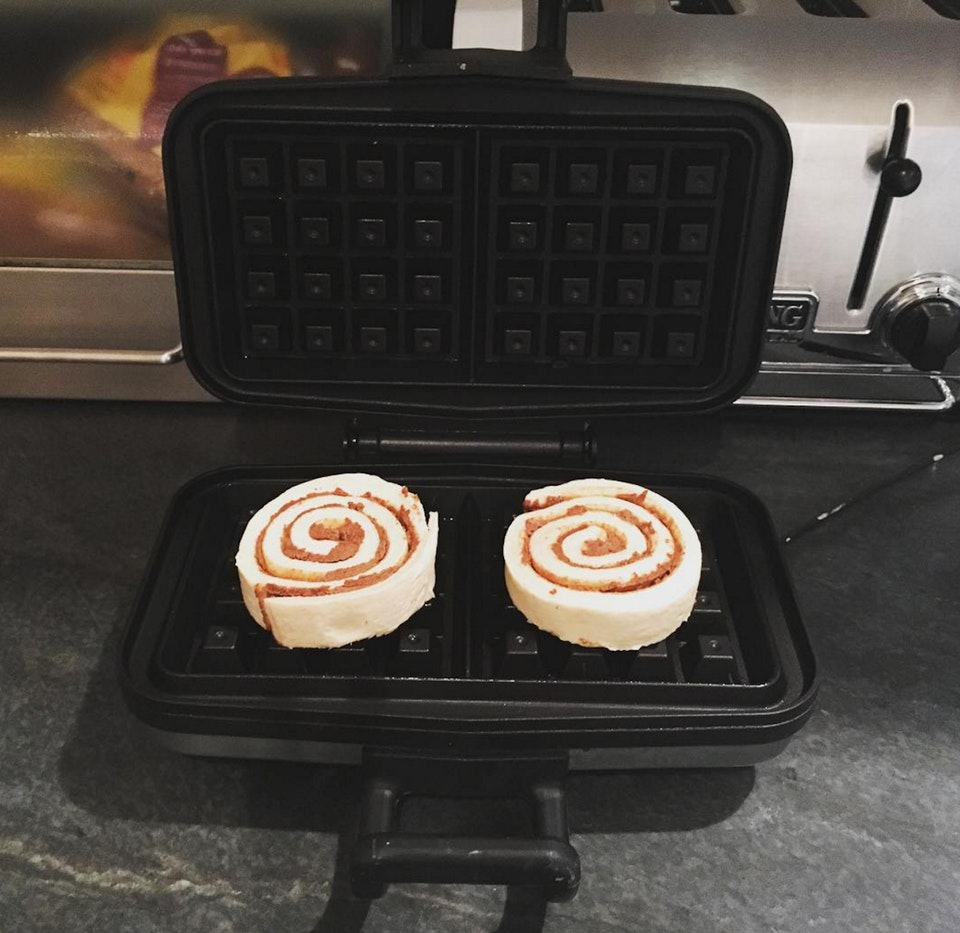 11 Incredibly Unexpected Uses For A Waffle Maker