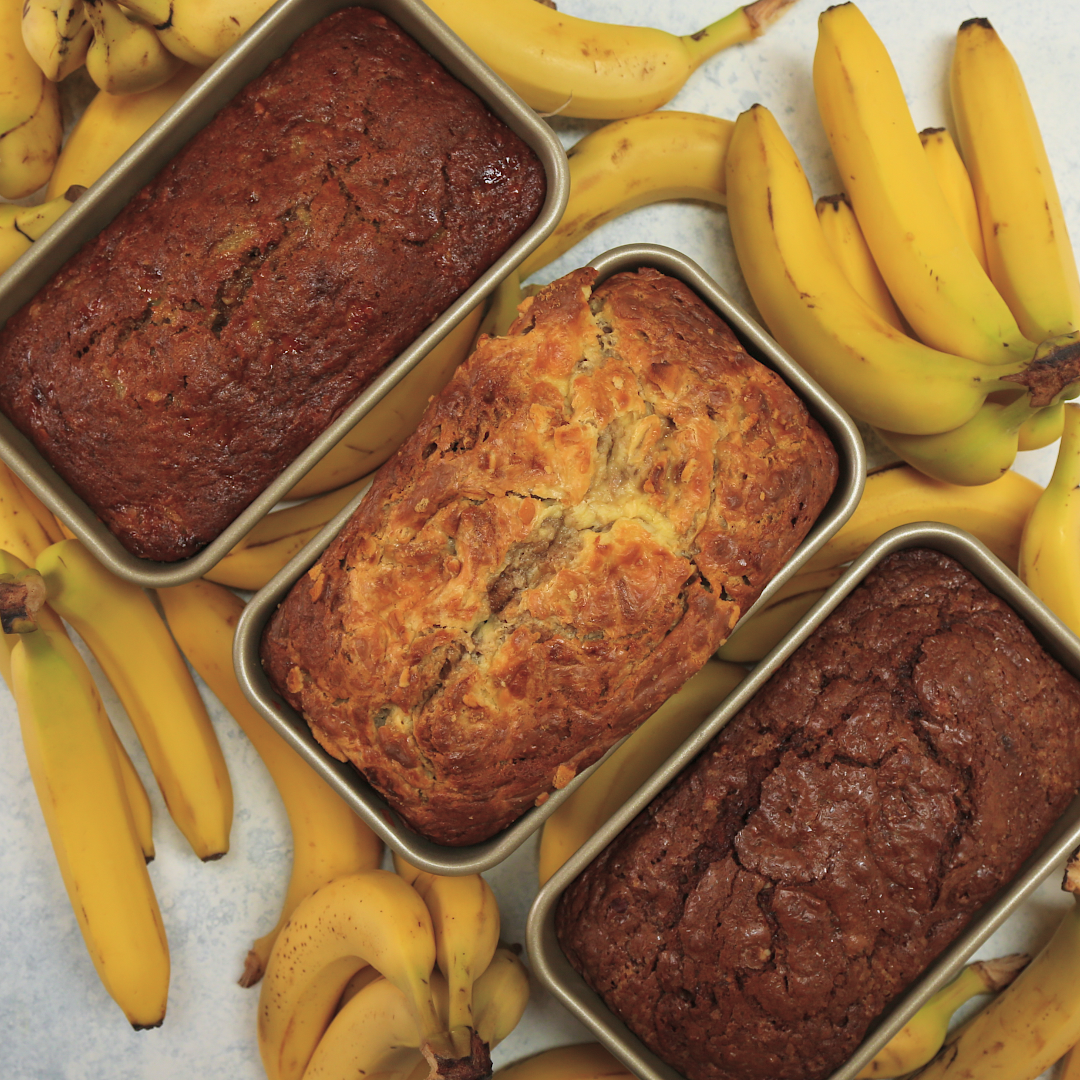 Banana bread 3 ways recipe tastemade forumfinder Images