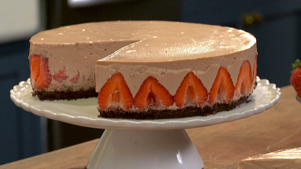 Strawberry Nutella Cheesecake Recipe Tastemade