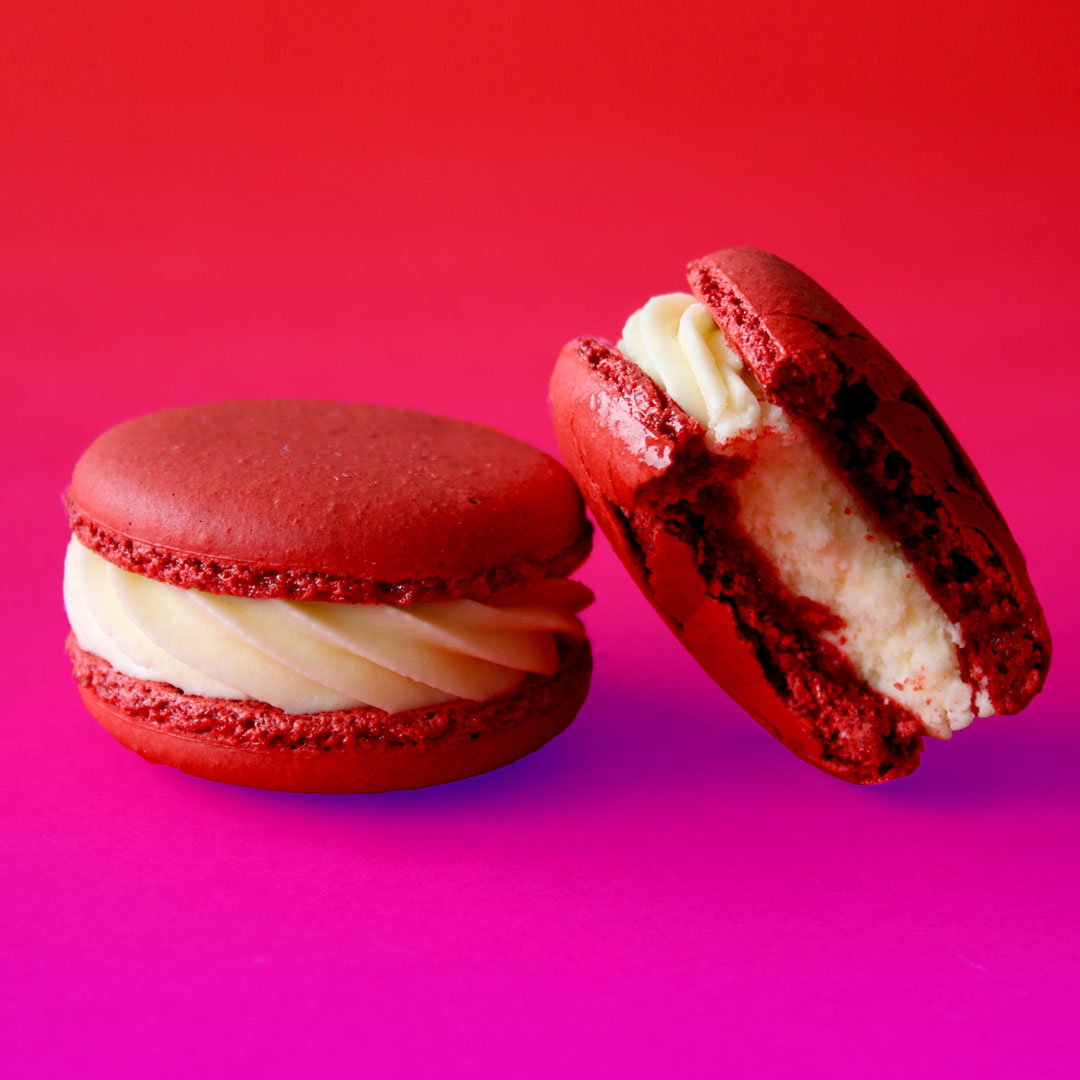 Souvent Red Velvet Macarons ~ Recipe | Tastemade QK34