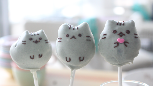 Pusheen Cake Pops Recipe Tastemade