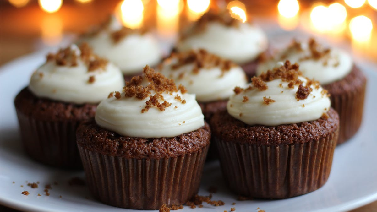 Gingerbread Cupcakes Image