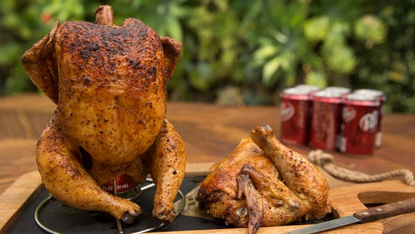 Grilled Dr Pepper Can Chicken Recipe Tastemade
