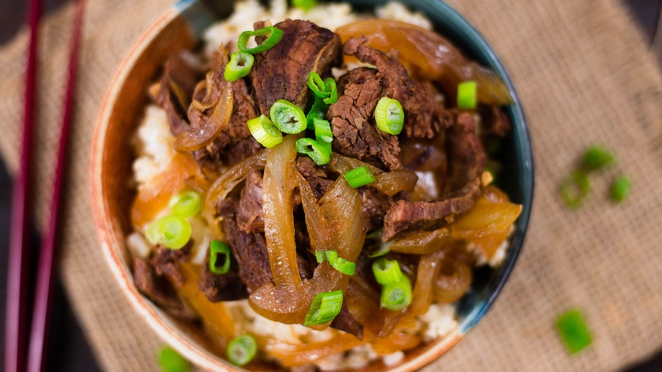 Slow Cooker Mongolian Beef ~ Healthy AF | Tastemade