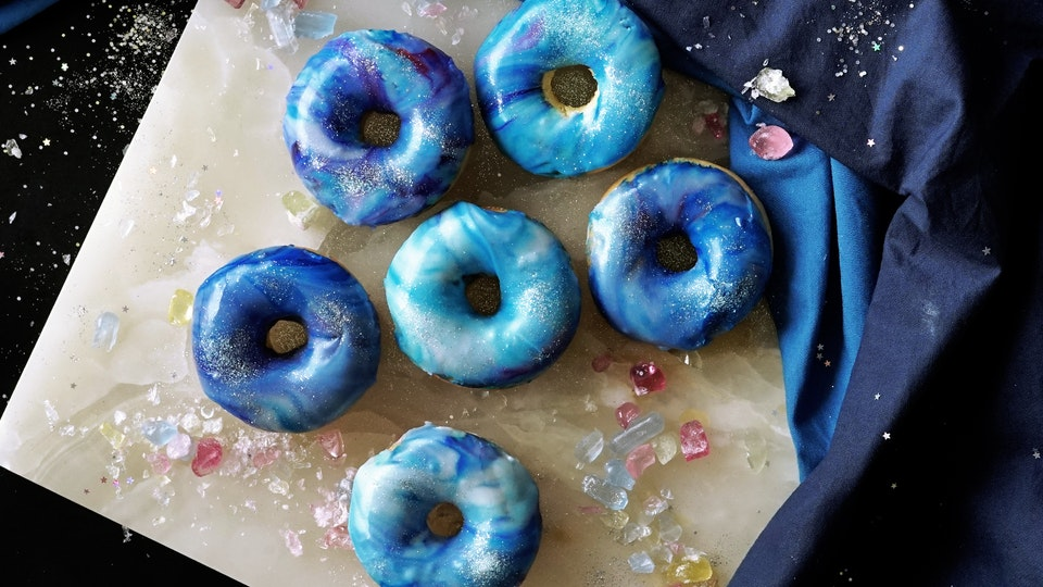 Easy Galaxy Donuts Recipe Tastemade