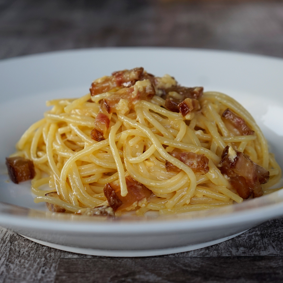 how to make spaghetti carbonara with cream