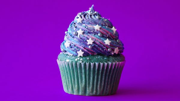 Galaxy Cupcakes Recipe Tastemade