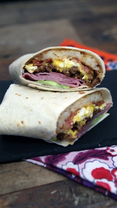 Best Breakfast Burrito