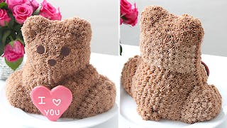 PANKOBUNNY I LOVE YOU TEDDY BEAR CAKE LANDSCAPE NO TEXT THUMBNAIL