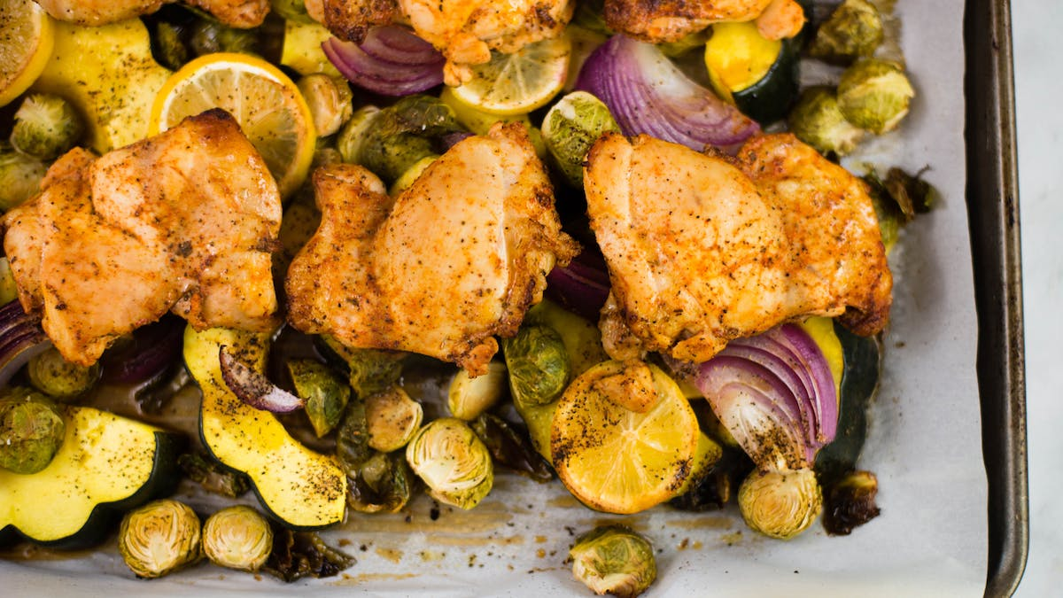healthy-af_s3e117_sheet-pan-chicken-with-roasted-brussels-sprouts-and-acorn-squash-dinner_landscapeThumbnail_en.jpeg