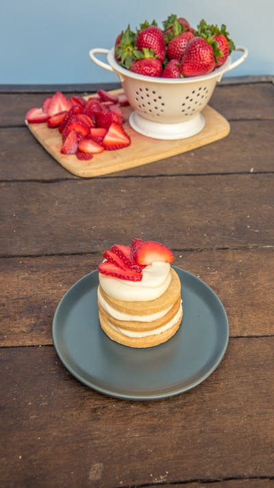 Strawberry Shortcake Mini Sugar Cookie Cakes Recipe