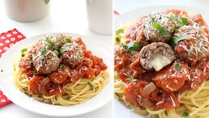 PANKOBUNNY CHEESE-STUFFED SPAGHETTI AND MEATBALLS LANDSCAPE NO TEXT THUMBNAIL