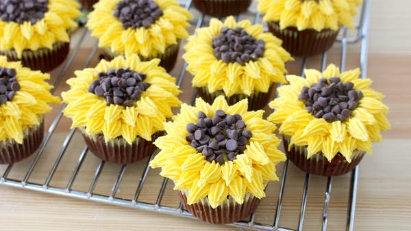 Sunflower Cupcakes Recipe Tastemade