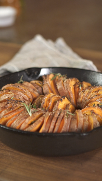 Rosemary And Garlic Sweet Potatoes