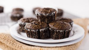 DOUBLE CHOCOLATE GLUTEN-FREE MUFFINS HIGH RES IMAGE 1920X1080