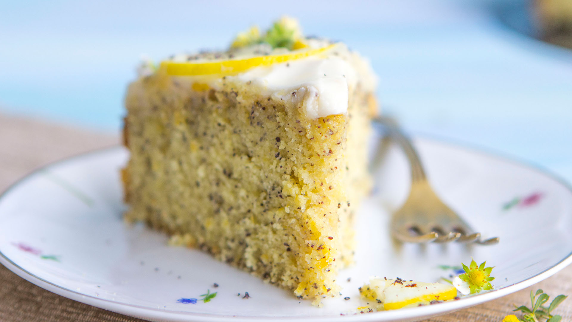 Lemon Poppyseed Cake Recipe Tastemade