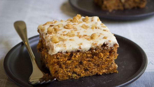 Carrot Cake Recipe No Icing: Carrot Cake With Cream Cheese Frosting ~ Recipe