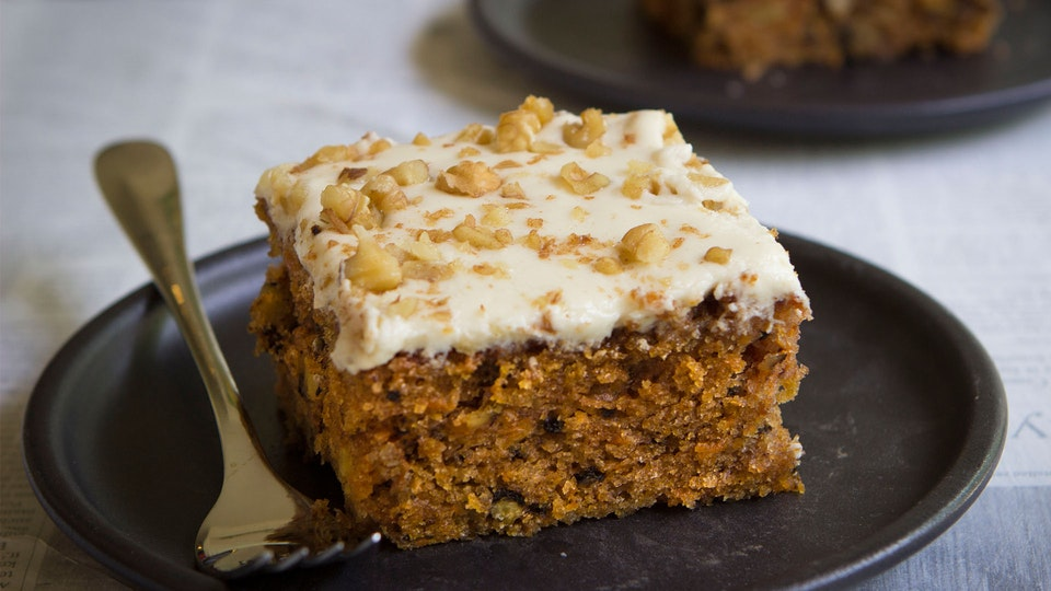 Carrot Cake With Cream Cheese Icing Recipe Uk