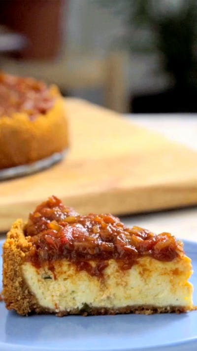 Savory Cheesecake Recipe Tastemade