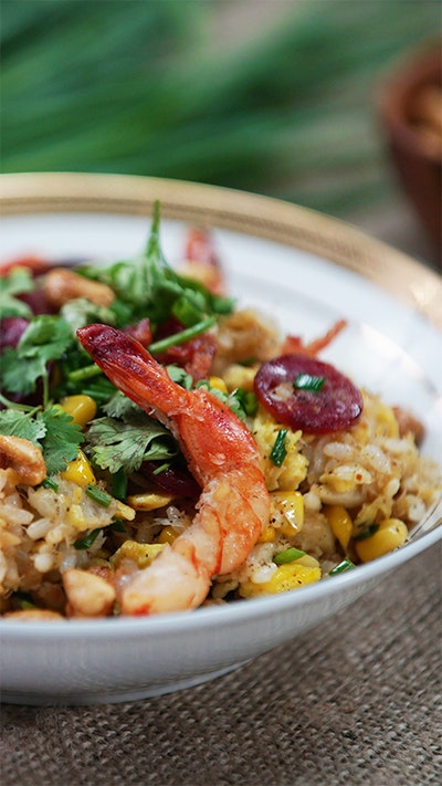 Shrimp and Crab Fried Rice