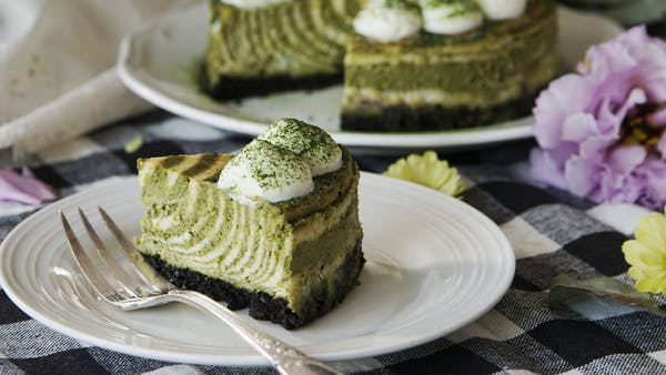 Matcha Zebra Cheesecake Recipe Tastemade