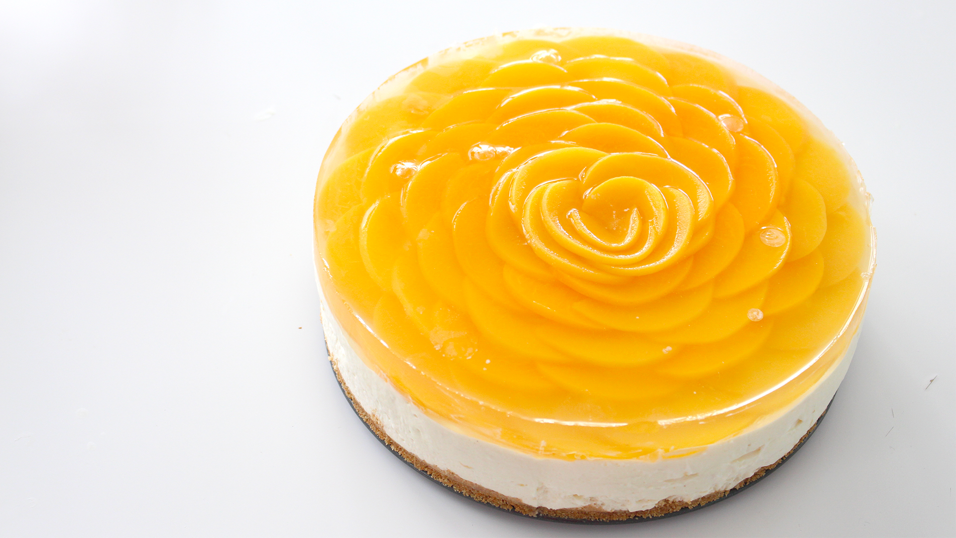 peach rose cheesecake recipe tastemade