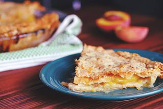 Peach pie - JEL